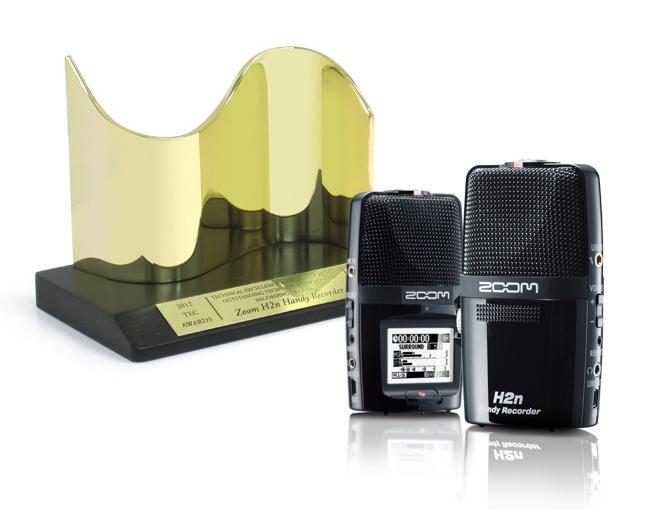 ZOOM H2n – победитель TEC Awards 2012