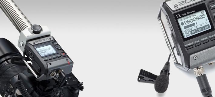 Новый рекордер ZOOM F1